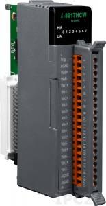 I-8017HCW Высокопрофильный модуль ввода, 8 /16 каналов аналогового ввода, 14-бит, параллельная шина