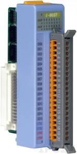 I-8037 Низкопрофильный модуль вывода, 16 каналов дискретного вывода, открытый коллектор, с изоляцией до 3750В, параллельная шина